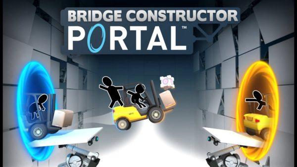 Bridge Constructor Portal art