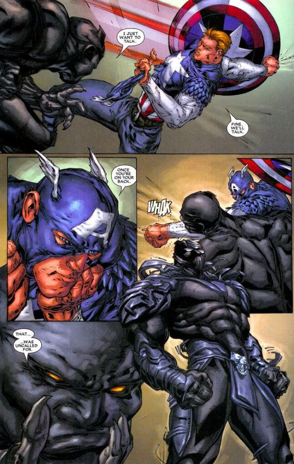 Black Panther #24 art by Marcus To, Koi Turnbull, Don Ho, Sal Regla, Jef de los Santos, Nick Nix, and J.D. Smith
