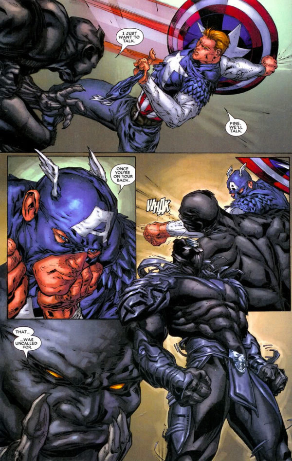 Black Panther #24 art by Marcus To, Koi Turnbull, Don Ho, Sal Regla, Jef de los Santos, Nick Nix, and J.D. Smith