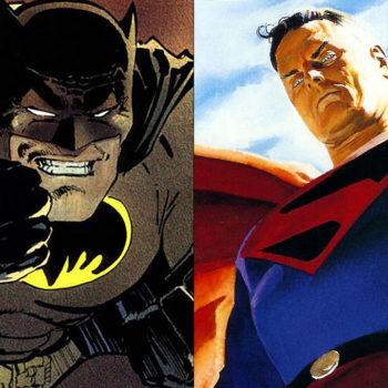 dark knight returns vs kingdom come superman