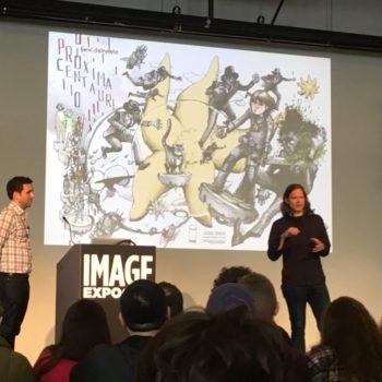 Proxima Centauri by Farel Dalrymple is getting a print publication from Image Comics, just announced at Image Expo 2018.