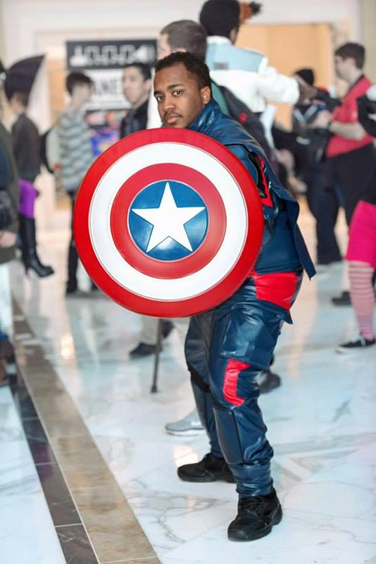 Stars and Stripes Cosplay