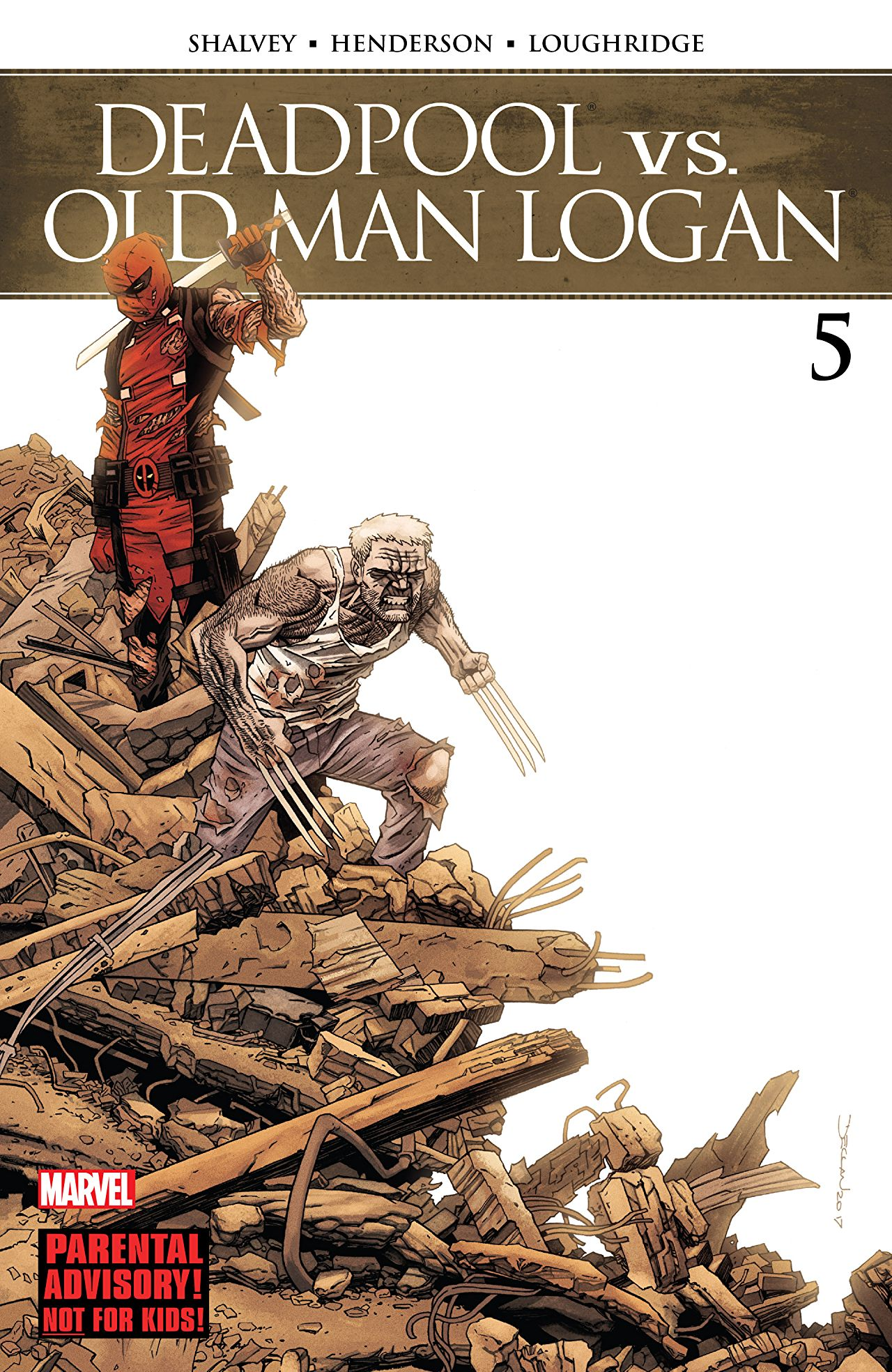 Deadpool vs. Old Man Logan #5