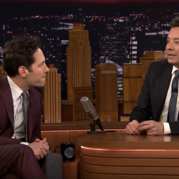 Paul Rudd on Jimmy fallon