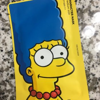 marge simpson face mask