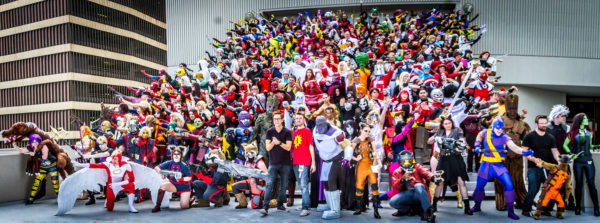 SCF's Giant Marvel Group Cosplay Photoshoot at Dragon Con 2014
