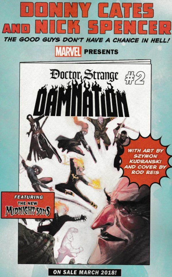 Will Marvel Spin A New Midnight Sons Series Out Of Doctor Strange Damnation