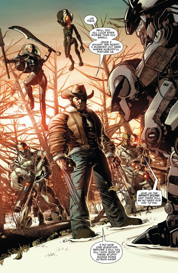 Infinity Countdown Prime art by Mike Deodato Jr. and Frank Martin