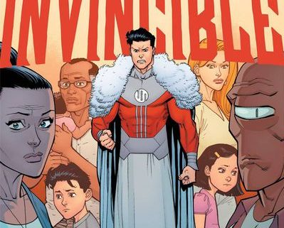 Invincible #144 cover by Ryan Ottley and Nathan Fairbairn