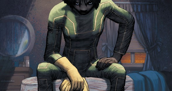 Kick-Ass #1 cover by John Romita Jr.