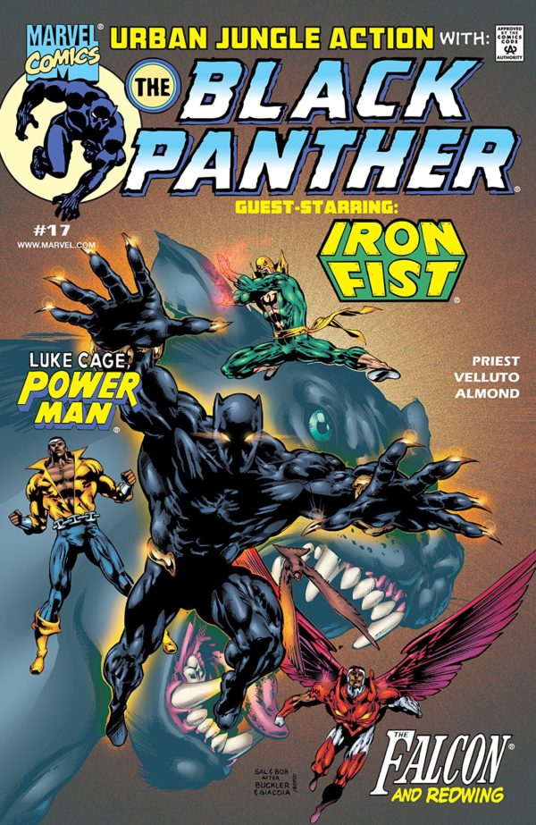 MK: Black Panther #17 cover by Sal Velluto