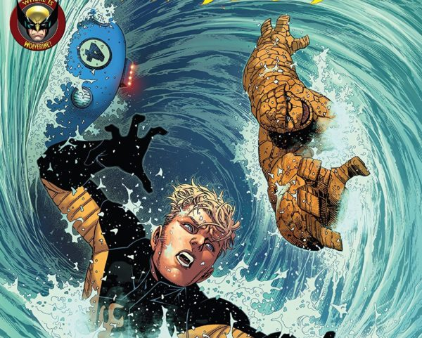 Marvel Two-in-One #3 cover by Jim Cheung and Frank Martin