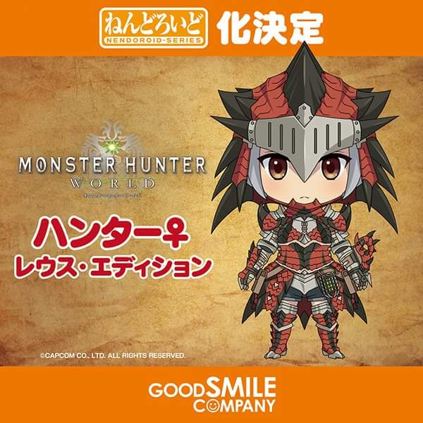 Monster Hunter: World is Getting a Nendoroid from GoodSmile