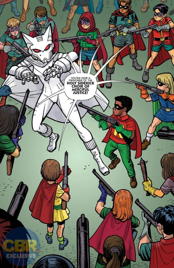 Mother Panic/Batman Special #1 art by Ty Templeton and Keiren Smith