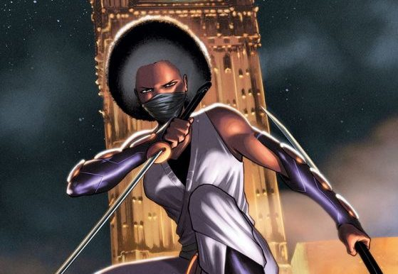 Ninja-K #4 cover by Cafu and Andrew Dalhouse