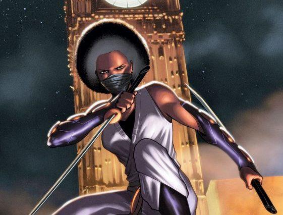 Ninja-K #4 cover by CAFU