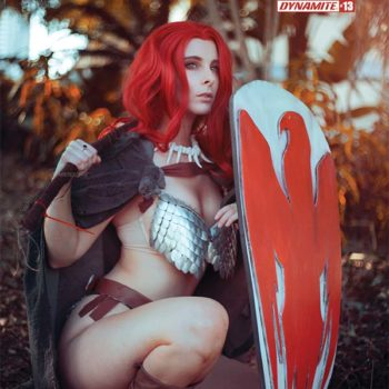 Red Sonja cosplay cover