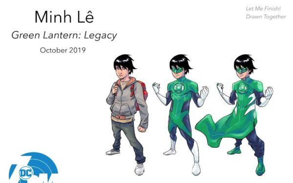 Tai Discovers That His Grandmother Was A Secret Green Lantern And He Inherits Her Jade Ring Then Goes On To Uncover Grandmothers Lifes Secrets