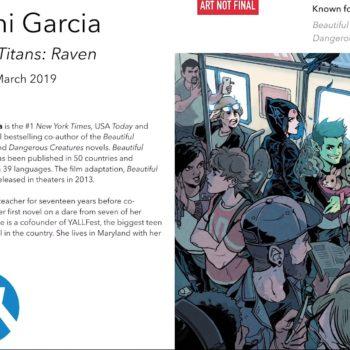 Kami Garcia teen titans
