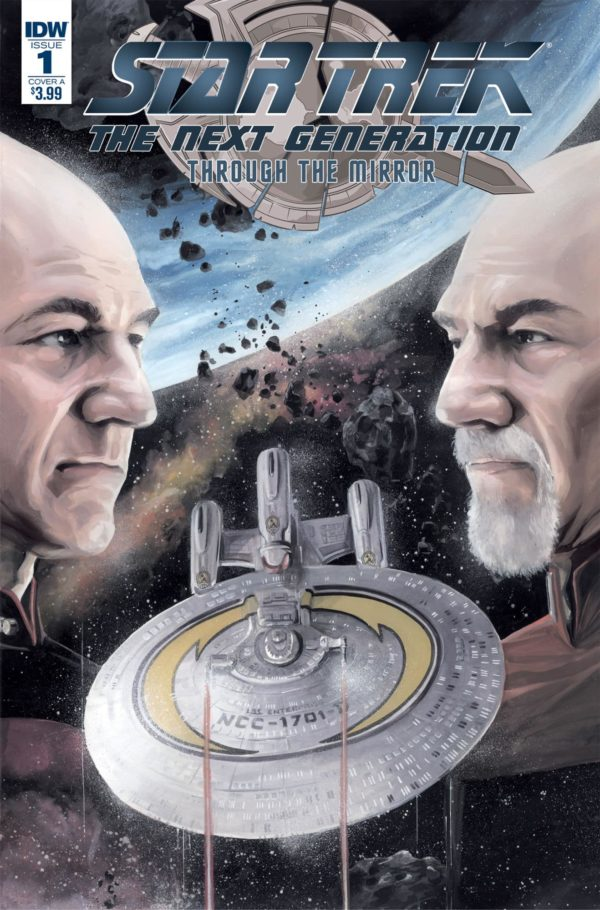 Star Trek: The Next Generation Travel to the Mirror Universe in IDW ...