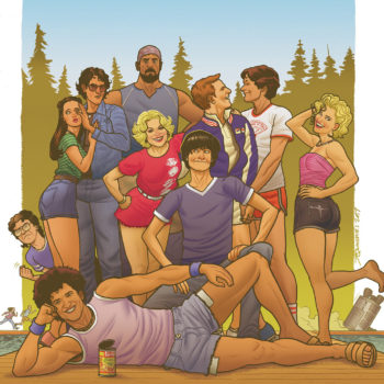 wet hot american summer comic boom