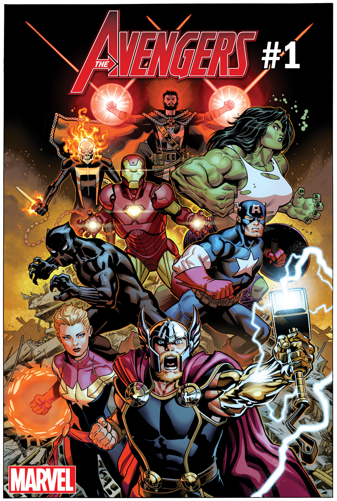 Marvel Comics Full Solicits For May 2018