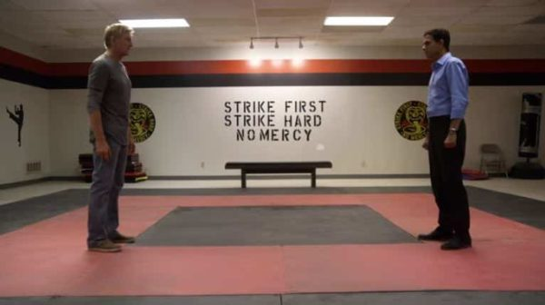 cobra kai teaser karate kid