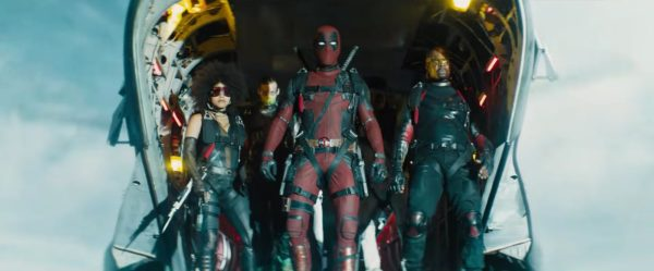 Deadpool 2 X-Force team including Shatterstar