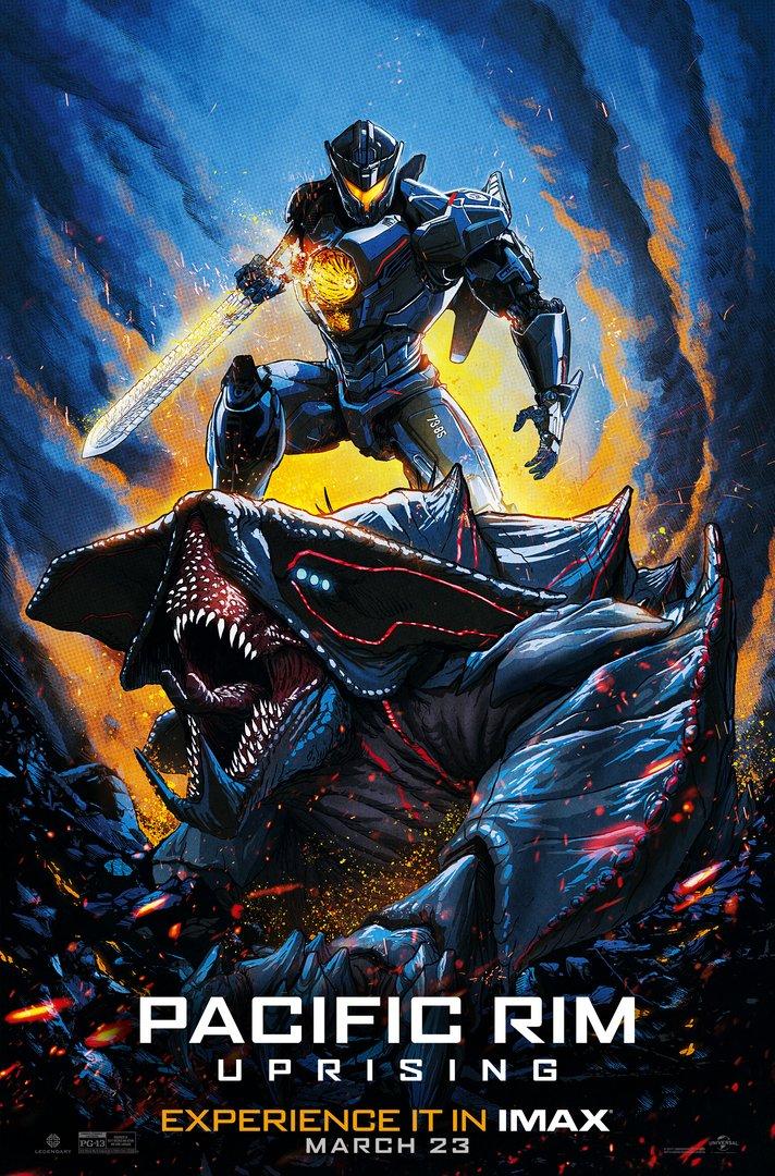 Resultado de imagem para pacific rim: uprising AMC-Poster
