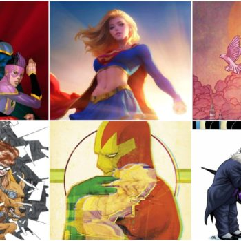 dc comics covers april