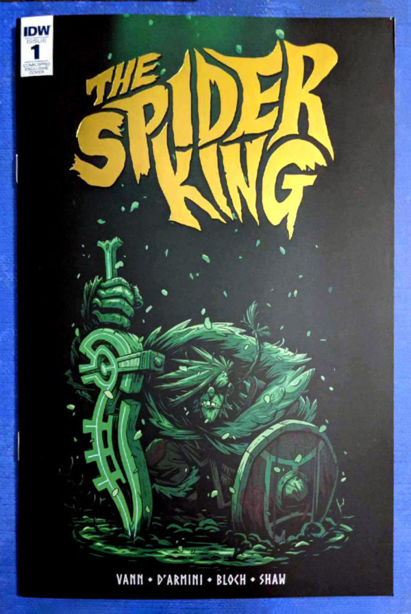 spider king ComicsPRO Variant