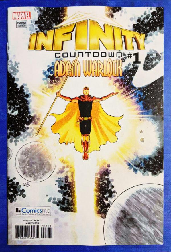 infinity countdown ComicsPRO Variant