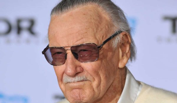 """LOS ANGELES, CA - NOVEMBER 4, 2013: Stan Lee at the US premiere of his movie """"Thor: The Dark World"""" at the El Capitan Theatre, Hollywood."""