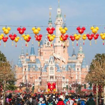 shanghai disneyland year of the dog