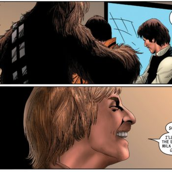 Luke Skywalker star wars comic