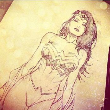 wonder woman by Jim Cheung and more geeky news 3/18