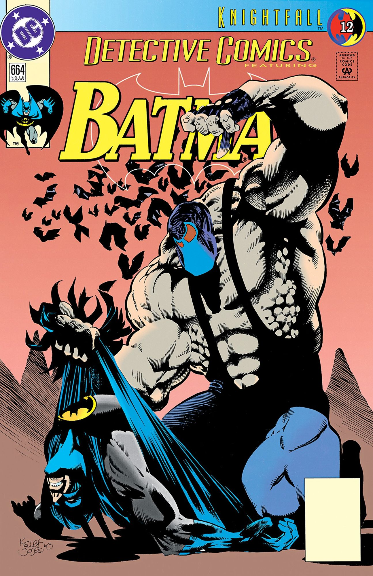 DC Comics to Reprint and Recut Chuck Dixon's Batman