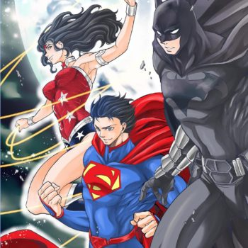 Batman & the Justice League manga cover