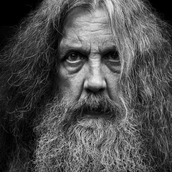 Alan Moore photo by Mitch Jenkins