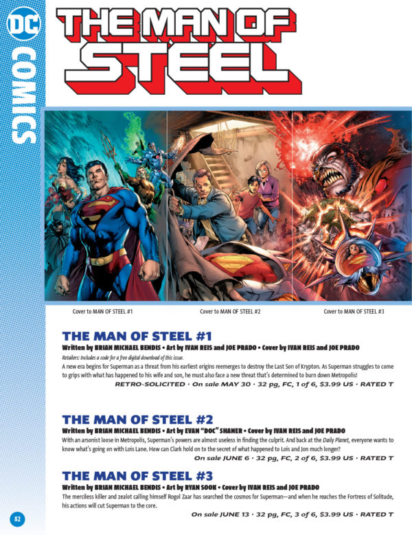 Heres Another Way Of Looking At The DC Comics Solicitations For June 2018 Catalogue That Will Be Seen In Next Weeks Previews Complete