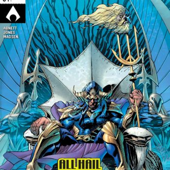 Aquaman #34 cover by Andy Kubert