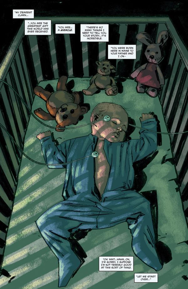 Babyteeth #9 art by Garry Brown and Mike Englert