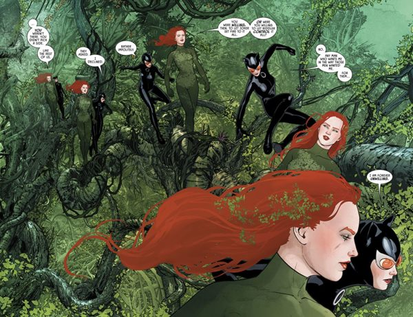 Batman #43 art by Mikel Janin and June Chung