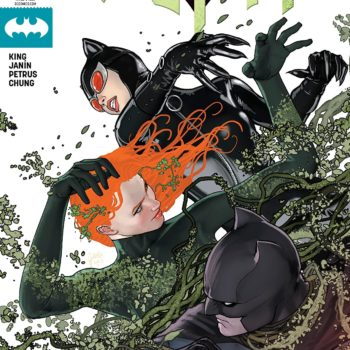 Batman #43 cover by Mikel Janin