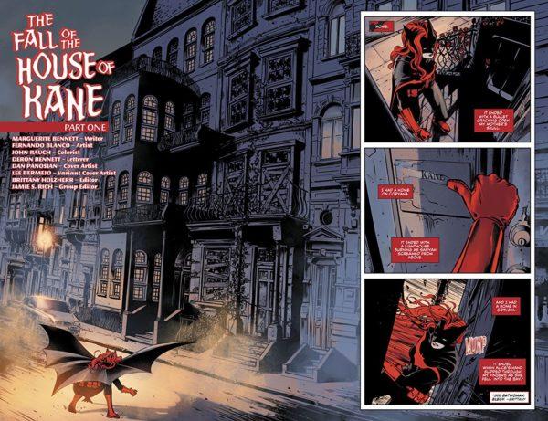 Batwoman #13 art by Fernando Blanco and John Rauch