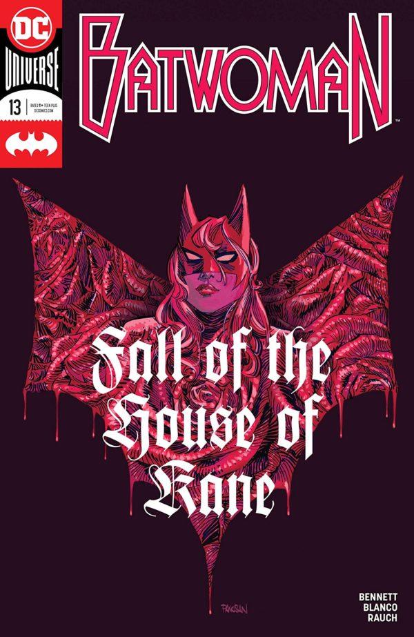 Batwoman #13 cover by Dan Panosian