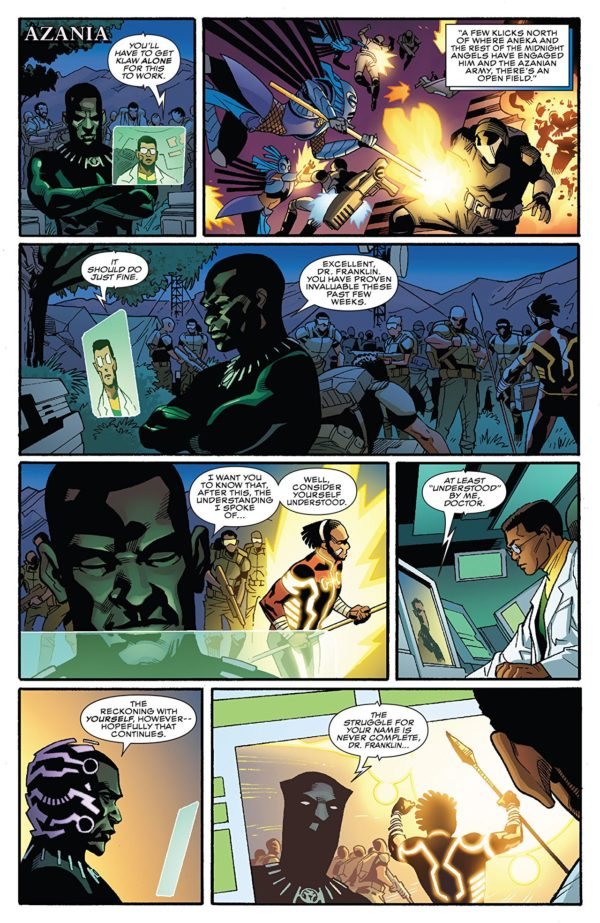 Black Panther #171 art by Leonard Kirk and Laura Martin