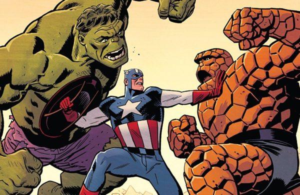 Captain America #699 cover by Chris Samnee and Matthew Wilson