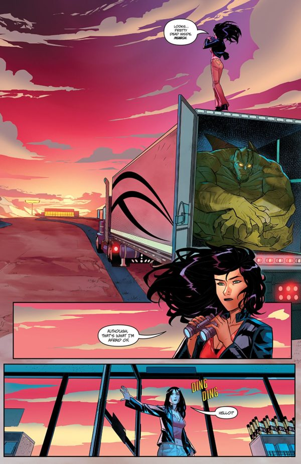 Charismagic Vol. 3 #2 art by Joey Vazquez and Federico Blee