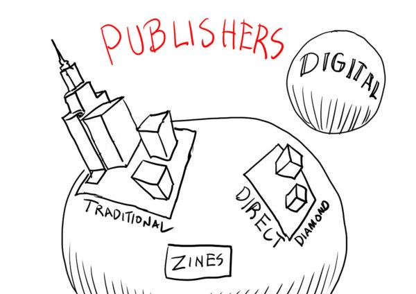 Comics Distribution Channels